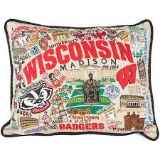 Pillow Store Catstudio Wisconsin Badgers Pillow University Book Store