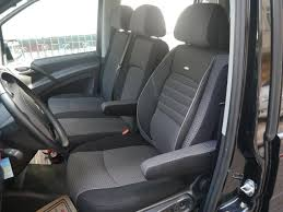 seat covers mercedes viano w639 lhd drivers seat and bench
