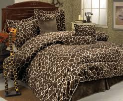 Giraffe Bedding Set 7 Giraffe Animal Kingdom Bedding Comforter Set