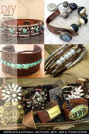 cuff bracelet tutorials images Boho style leather cuffs inspiration and free tutorials and how png