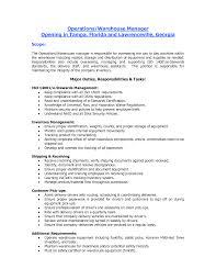 Creative Sample Resume by Resume Sample Resume Warehouse Worker