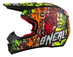 neon motocross gear o u0027neal 5 series vandal helmet revzilla