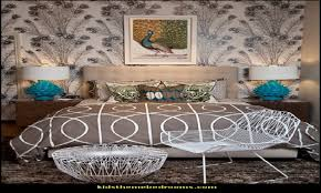 peacock bedroom ideas decorating with peacock theme peacock