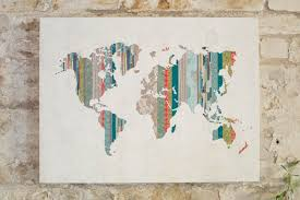 wall art give best ideas about world map wall art world map for