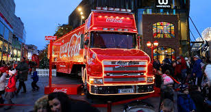 calls to ban the coca cola truck from visiting one uk city this