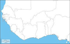 Outline World Map by Western Africa Free Map Free Blank Map Free Outline Map Free