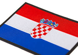 Flag Photos Croatia Flag Patch Color Identifikation Equipment Clawgear