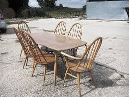 Ebay Furniture Dining Room Barn Find Winsor Ercol Dining Table And Chairs Ercol Dining
