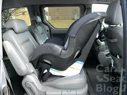 sureride car seat using a tightly rolled towel under recline leg