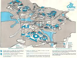 Discovery Park Seattle Map by Busch Gardens The Old Country 1976 Theme Park Maps