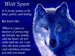 courage confidence strength wildness wolves weaknesses