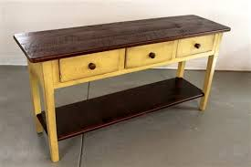 Driftwood Sofa Table by Extra Thick Sofa Table With New Driftwood Finish Ecustomfinishes