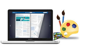 Online Portfolio Resume by Online Resume Portfolio Maker Converts Pdf To Interactive Page