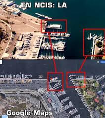Google Maps Los Angeles Ncis Los Angeles Boatsead Location Googlemaps By