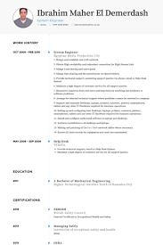 Health Informatics Resume System Engineer Resume Samples Visualcv Resume Samples Database