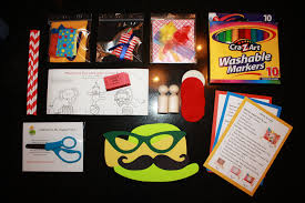 the happy trunk review september 2013 kids activity kit box