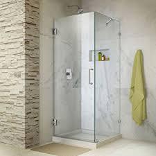 30 Shower Door Dreamline Unidoor 30 3 8 In By 30 In Frameless Hinged Shower