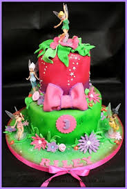 tinkerbell birthday cake 2 tiered tinkerbell birthday cake a birthday cake