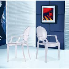 Transparent Acrylic Chairs Amazon Com Designer Modern Clear Louis Ghost Armchairs Set Of 4