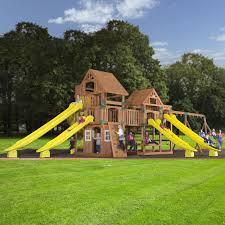 Backyard Discovery Winchester Playhouse Backyard Discovery Safari Cedar All Cedar Swing Set U0026 Reviews