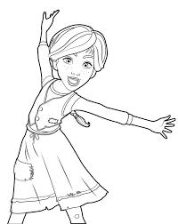 cartoon ballerina coloring pages alltoys