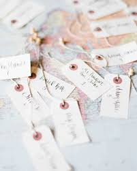 15 escort cards ideas that won u0027t fly away at your outdoor wedding
