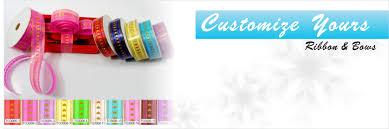 ribbon and bows customize poly ribbon bows gift bows pull bows suppliers
