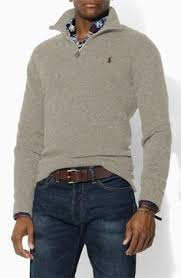 polo ralph lauren french rib half zip pullover clothing ideas