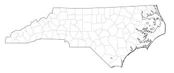 Nc State Map Graphics Us States Outline With County Lines Maps Ask The