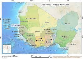 The Sahel Map Map Unowa