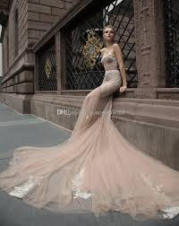 champagne corset wedding dresses 2017 inbal dror mermaid