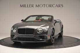 bentley 2017 convertible 2017 bentley continental gt v8 s stock b1185 for sale near