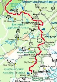 appalachian trail planner website includes carolina