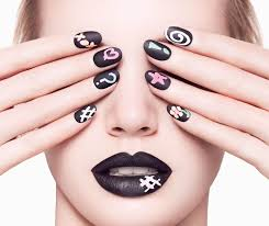 how to do awesome and creative nail art designs in just five