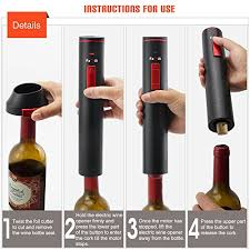 how to make a wine bottle l amazon com famili fm700br rechargeable cordless electric wine