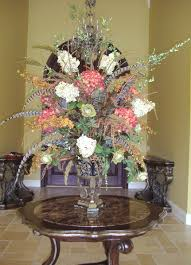 Baroque Home Decor Interior U0026 Decoration Entryway Decor With Silk Floral Arrangements