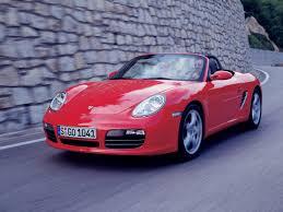 Porsche Boxster 2005 - 2005 porsche boxster s front angle rock wall 1600x1200 wallpaper