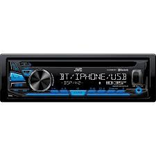 jvc kdsr83bt in dash cd built in bluetooth usb and detachable