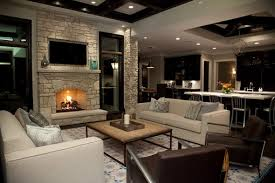 Living Room With Fireplace That Will Warm You All Winter - Small modern living room designs
