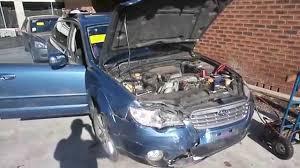 subaru outback ute wrecking 2007 subaru outback engine 2 5 5 speed j14107 youtube