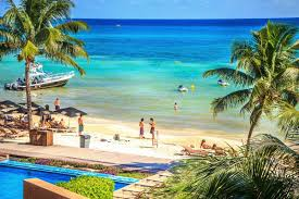Playa Del Carmen Map El Faro Hotel Playa Del Carmen Riviera Maya Mexico