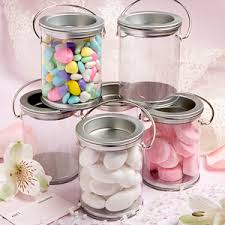 wedding favor containers mini paint can favor containers