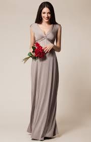 robe allaitement mariage robe de grossesse clara longue moka robes de maternité de