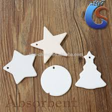irregular shape white ceramic christmas ornaments buy ornament
