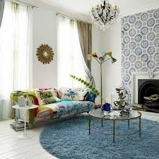Round Blue Rugs Wonderful Round Area Rugs Jewel Geometric Curves And Abstract