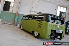 custom volkswagen bus the box rod u2013 chopped u0026 slammed superfly autos
