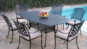 Remove Rust From Metal Furniture by Right Way To Clean Patio Furniture Cast Aluminum Wicker Youtube