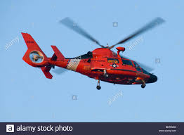 a united states coast guard hh 65 dolphin medevac capable search