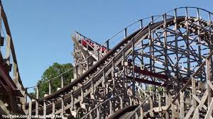 Six Flags St American Thunder Off Ride Hd Six Flags St Louis Youtube