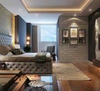 designer beleuchtung beleuchtung decke dunkeles interior wandgestaltung lichtkonzept